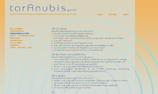 Zenart Website taranubis.ch